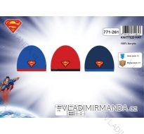 ČEPICE  ZIMNÍ SUPERMAN DĚTSKÁ CHLAPECKÁ  (uni) SETINO 771-261