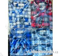 Košile flanelová pánská (40-49) NAN YUAN NY01