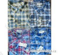 Košile flanelová pánská (40-49) NAN YUAN NY02