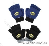 Rukavice prstové batman dětské chlapecké (one size) SETINO 800-410
