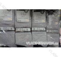 PONOŽKY SLABÉ KLASICKÉ PÁNSKÉ PROUŽEK (39-46) VIRGIN NĚMECKO H-3310