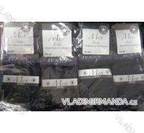 PONOŽKY SLABÉ KLASICKÉ PÁNSKÉ ČERNÉ (39-46) VIRGIN NĚMECKO H-3311