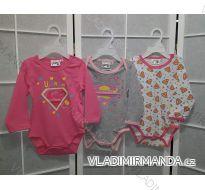 Body dlouhý rukáv superman kojenecké dívčí (3-24 měsíců) TV MANIA 161154