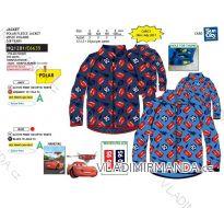 MIKINA TEPLÁ CARS DĚTSKÁ CHLAPECKÁ (3-8 LET) SUN CITY HQ1281