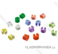 Minireitery - velikostní označení ramínek (XS-3XL) balení 50ks OR1XS-3XL