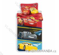 POVLEČENÍ CARS DĚTSKÉ CHLAPECKÉ (140*200) JF CARS 3