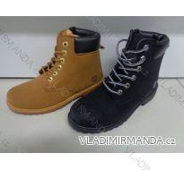 Kotníková zimní obuv koženková zateplená kožíškem dámská (36-42) CAMO OBUV XN38