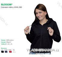 mikina DÁMSKÁ S KAPUCÍ DL zip blossom(S-xl) MWK-300