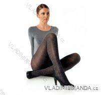Punčochové kalhoty s melírem (158-100,164,176-108,170-116,164,170,174,182-124) FELICIE