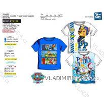 Tričko krátký rukáv paw patrol dětské chlapecké bavlněné (3-6 let) SUN CITY ER1394