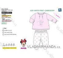 Souprava tričko dlouhý rukáv a kalhoty minnie mouse kojenecká dívčí (0-6 měsíců) SUN CITY ER0016