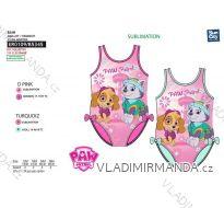 Plavky paw patrol kojenecké dívčí (12-36měsíců) SUN CITY ER0109