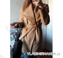 Kabát jarní flaušový dámský (uni s-l) ITALSKá MóDA IMC18255