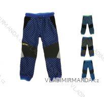 Kalhoty outdoor manžestrové bavlněné jarní kojenecké dětské dívčí i chlapecké (80-116) KUGO M5003