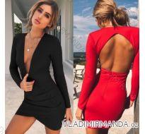 Šaty mini sexy dlouhý rukáv dámské (s-xl) AFASHION AF18008