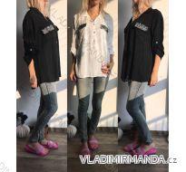 Košile tunika dámská (uni s-l) ITALSKá MóDA IM517200
