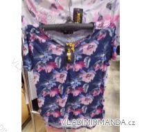 Tričko tunika krátký rukáv dámské (s-xl) M.B.21 2867