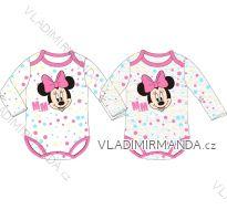 Body dlouhý rukáv minnie mouse kojenecké dívčí bavlněné (68-86) EPLUSM DIS MF 51 01 837