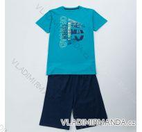 Pyžamo krátké komplet  letní dětský chlapecký (134-164) WOLF S2866
