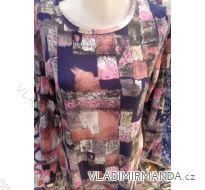 Tričko dlouhý rukáv dámské (l-3xl) DUNAUONE POLSKá MóDA PM118172