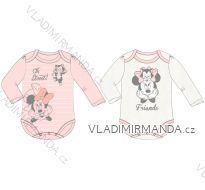 Body dlouhý rukáv minnie mouse kojenecké dívčí bavlněné (3-24 měsíců) EPLUSM DIS MF 51 01 1105 SINGLE
