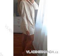 Svetr / cardigan dlouhý rukáv dámské (m-2xl) POLSKá MóDA PM118154