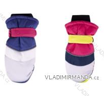 Rukavice palčáky lyžařské dětské dívčí (18cm) YOCLUB POLSKO RN-023