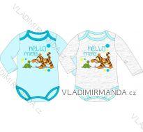 Body dlouhý rukáv medvídek pú kojenecké chlapecké bavlněné (68-86) EPLUSM DIS TG 51 01 833
