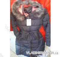 Kabát zimní prošívaný s kožíškem dámský (s-xl) POLSKO IM10188615