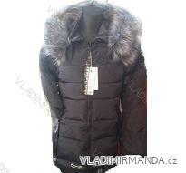 Kabát zimní prošívaný s kožíškem dámský (s-xl) POLSKO IM10188002