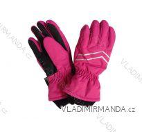Rukavice prstové dětské dívčí i chlapecké (6let-11let) PIDILIDI PD0999-03