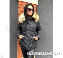 Bunda zimní s kožíškem dámská prošívaná (s-m-l-xl) MFASHION MF18MEZO