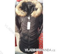 Bunda zimní prošívaná s kožíškem dámská (s-2xl) POLSKO IM1018W625-2