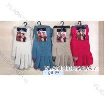 Rukavice prstové dětské dívčí (20-22cm) POLSKO PV118GM-195