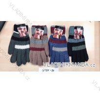 Rukavice prstové dětské chlapecké (18-20cm) POLSKO PV118GTEN-24