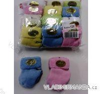 Ponožky froté kojenecké dívčí i chlapecké (0-3 měsíců) TURECKO PV118189