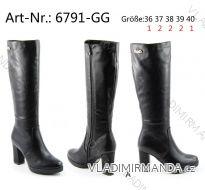 Kozačky zimní vysoké dámské (36-40) OBUV OBT186791-GG