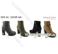 Boty zimní kotníkové dámské (36-40) OBUV OBT181033R-GA
