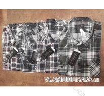 Košile flanelová pánská (38-48) L-EXPLORER JE-C