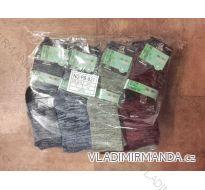 Ponožky teplé thermo zdravotní lem dámské bambusové (35-42) AMZF PB-821