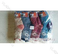 Ponožky teplé zateplené bavlnou dorost až dámské (36-41) ELLASUN 9125572