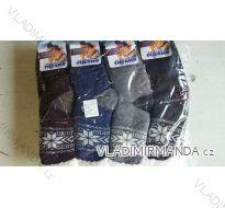 Ponožky teplé zateplené bavlnou pánské (40-46) ELLASUN M42000