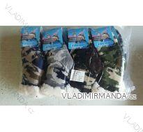 Ponožky teplé zateplené bavlnou dětské chlapecké maskáčové (27-38) ELLASUN BM49002