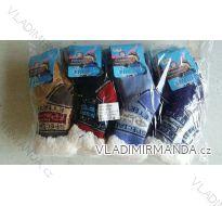 Ponožky teplé zateplené bavlnou dětské chlapecké (27-38) ELLASUN BM49001