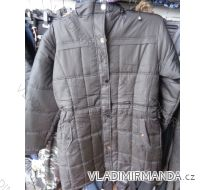 Bunda kabát zimní nadrozměrný dámský (m-3xl) HARPIA 233H