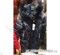 Kabát bunda zimní prošívaný s kožešinou dámský (s-2xl) EMT-ALNWICK EMT18009