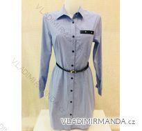 Šaty  s dlouhým rukávem  dámské (s-2xl) METROFIVE MET187476-9