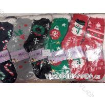 Ponožky teplé zateplené bavlnou dorost až dámské (35-38) ELLASUN 2049
