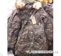 Kabát parka dámská teplá s kožíškem maskáč (s-2xl) EMT-ALNWICK IM618W80003-1