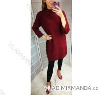 Šaty úpletové dámské (UNI S-L) ITALSKÁ MÓDA IM5182753